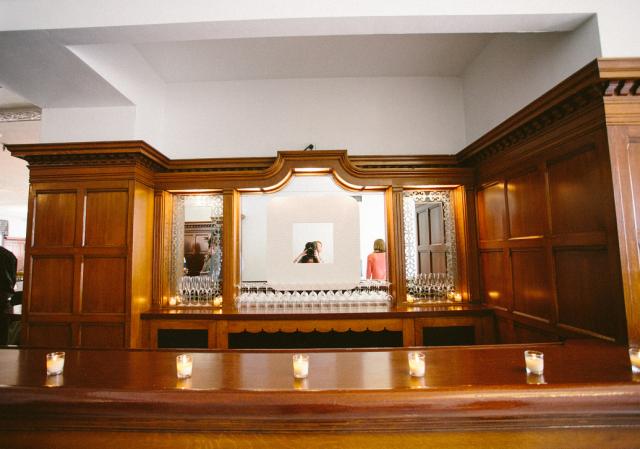 Beautiful original bar in the Grill Room