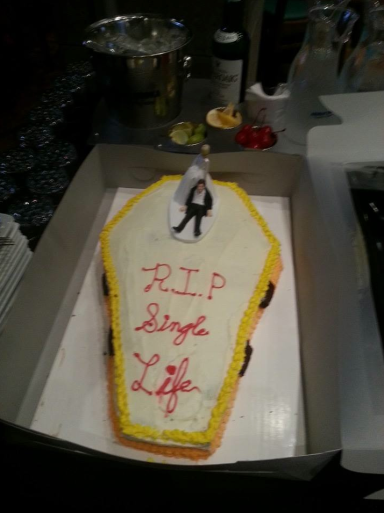 Grooms cake, homemade by the Best Man, Philip! personal photo